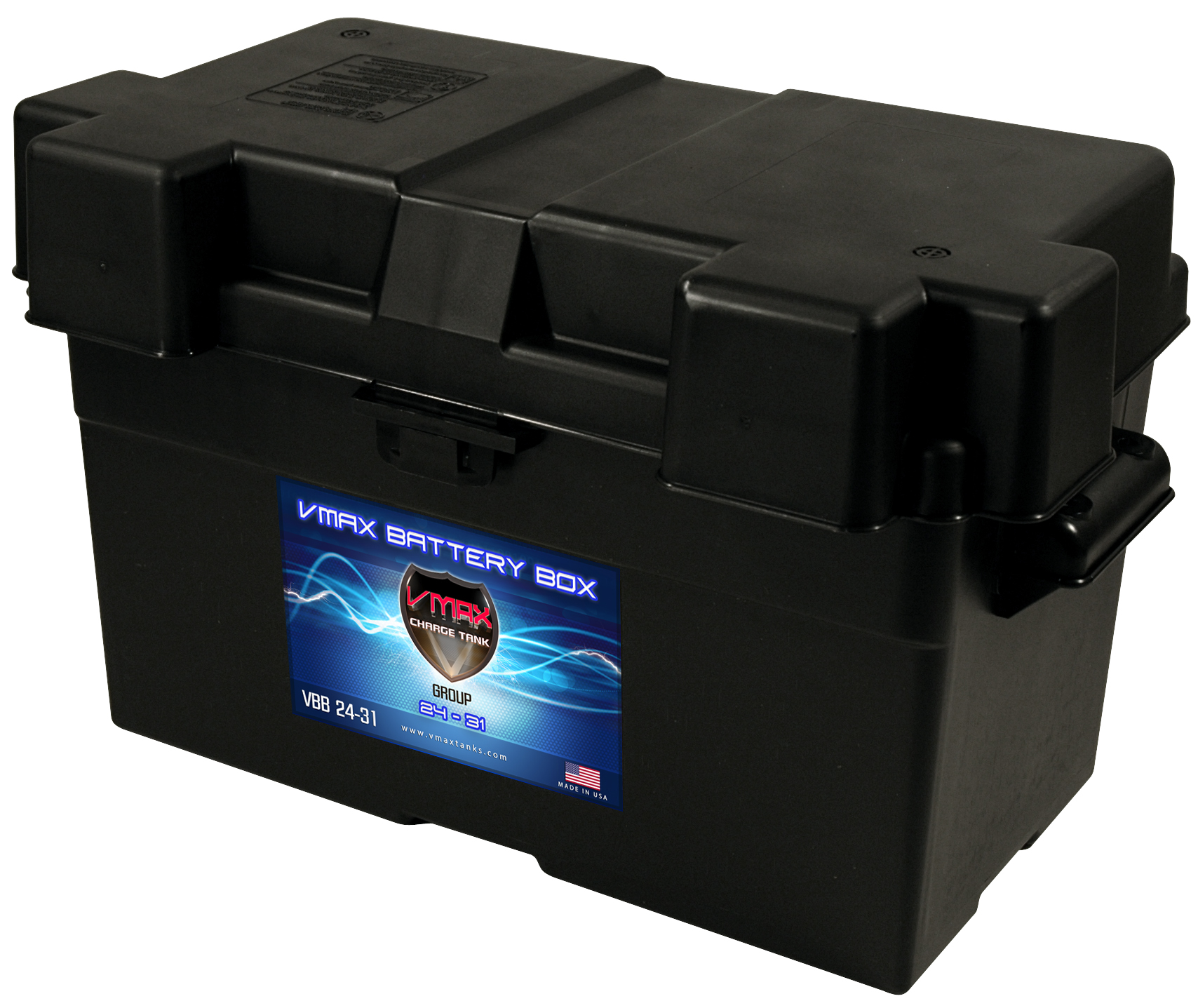 Deep Cycle Marine Battery Charger >> Group 24, 27, 31 Adjustable Battery Box FREE SHIPPING