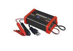 12 VOLT 10 AMP 8-Stage Smart Charger/Maintainer