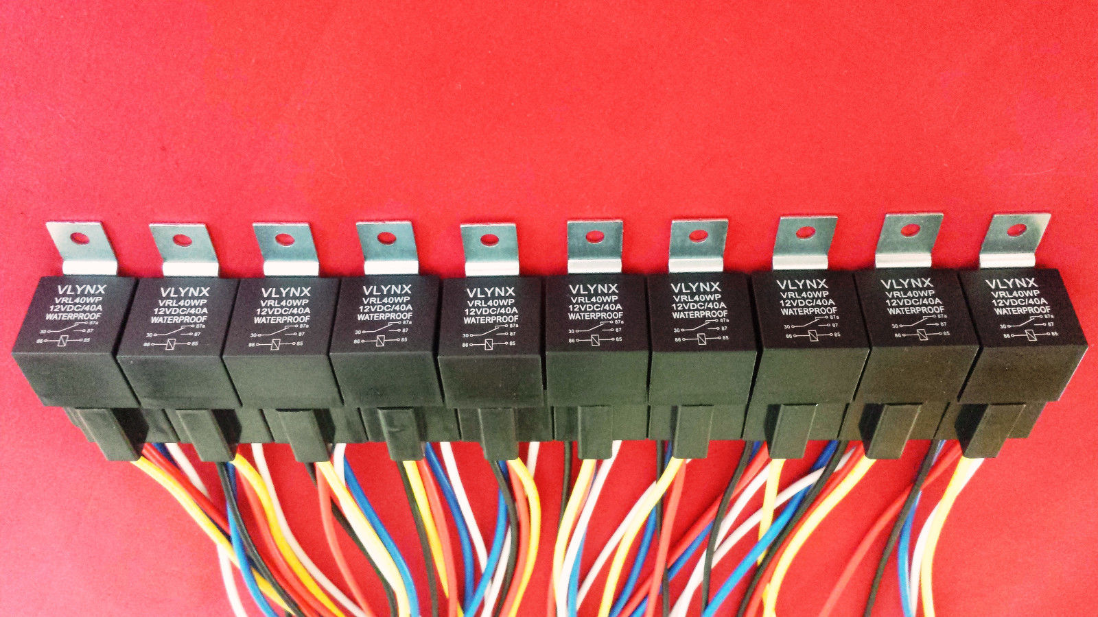 Marvelous 10 12V 40A Relay 10 5 Wire Socket Harness Spdt Wiring Digital Resources Xeirawoestevosnl
