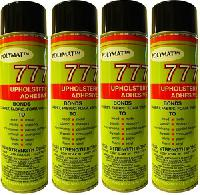 QTY 4: 20 oz cans Polymat 777 Glue Spray Adhesive
