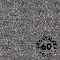 SIze: 16ft x 3.75ft Polymat™ Series-25 Charcoal