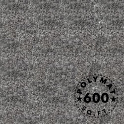 Size: 150ft x 4ft Polymat™ Series-25 Charcoal