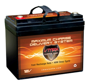 Vmax857 12 Volt 35ah Agm Sla Marine Deep Cycle Battery
