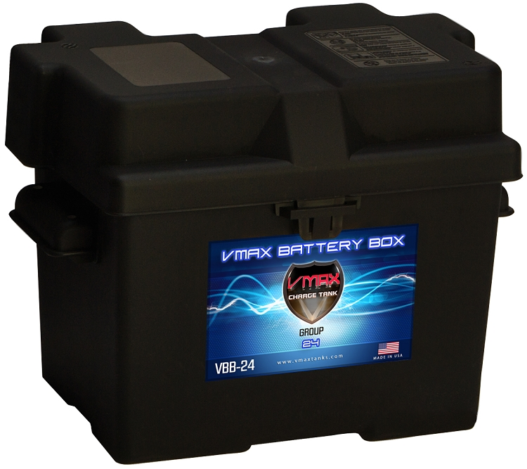 Deep Cycle Marine Battery Charger >> Group 24 Standard Battery Box FREE SHIPPING