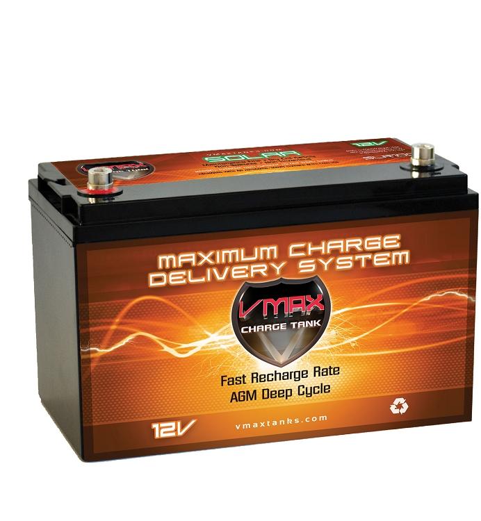 Vmax Slr100 12 Volt 100ah Agm Deep Cycle Hi Performance
