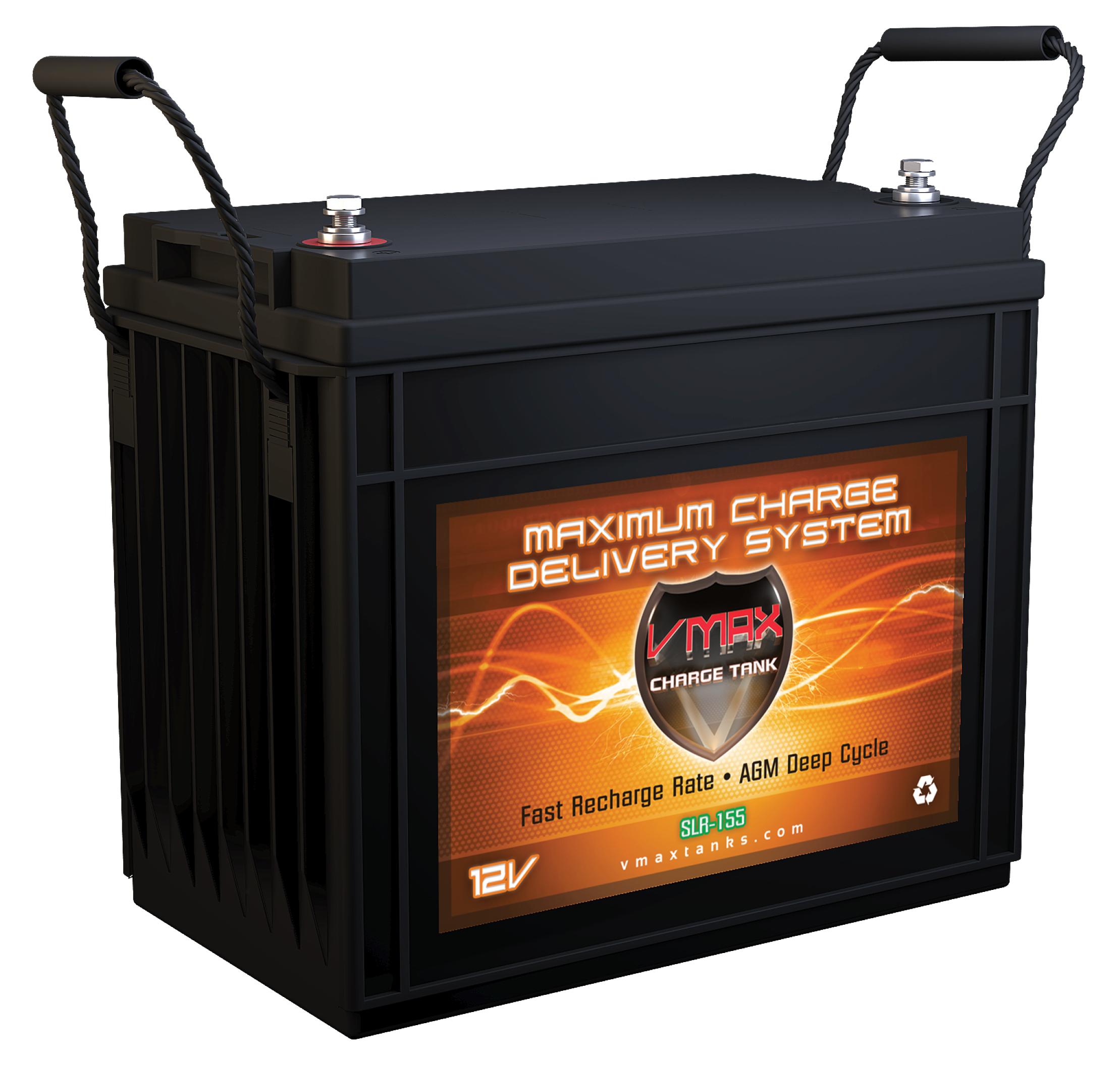 Vmax Slr155 12 Volt 155ah Agm Deep Cycle Hi Performance