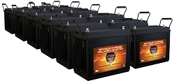 QTY 12 VMAX SLR155 12V 155Ah AGM Deep Cycle Hi Performance Battery