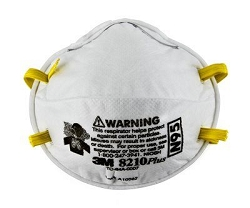 3M™ Particulate Respirator 8210plus, N95 (Pack of 20)