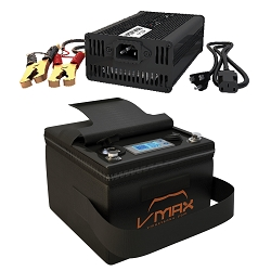 VPG12C-35Li Li-Ion 35AH Deep Cycle Battery Power Generator W/Charger