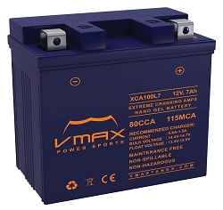 XCA100L7 80CCA 210PHCA 7ah Battery