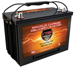 VMAX XTR27-110 12V 110AH DEEP CYCLE, XTREME AGM BATTERY