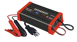 12 VOLT 15 AMP 8-Stage Smart Charger/Maintainer