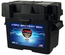 Group U1 Standard Battery Box FREE SHIPPING