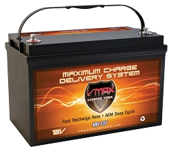 VMAX MR137-120 12V 120Ah AGM Deep Cycle Hi Performance Battery