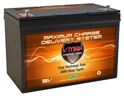 VMAX SLR100 12 Volt 100Ah AGM Deep Cycle Hi Performance Battery