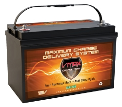VMAX SLR125 12 Volt 125Ah AGM Deep Cycle Hi Performance Battery