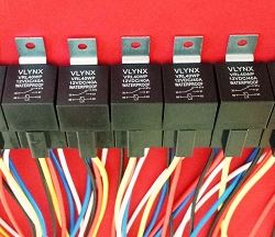 (5) 12V 40a relay+(5) 5 wire socket harness spdt