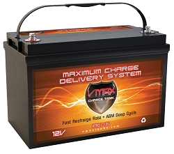 VMAX XTR31-135 12V 135AH DEEP CYCLE, EXTREME AGM BATTERY