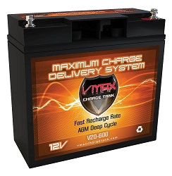 VMAX V20-600 12V 20Ah AGM Deep Cycle Battery