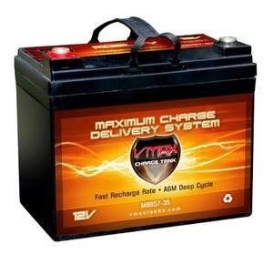PowaKaddy Classic 12V AGM VMAX MB857 Battery