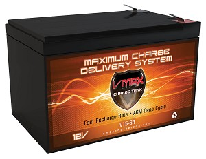 VMAX V15-64 12V 15Ah AGM Deep Cycle Battery